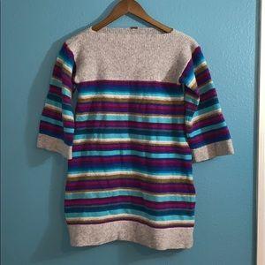 Free People Wool Sweater Dress